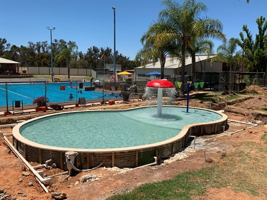 Children's Pool Project - Pool construction 6
