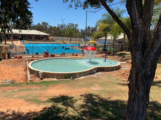 Children's Pool Project - Pool construction 7