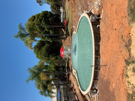 Children's Pool Project - pool construction 5