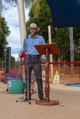 Children's Pool Project - shire president welcoming speech