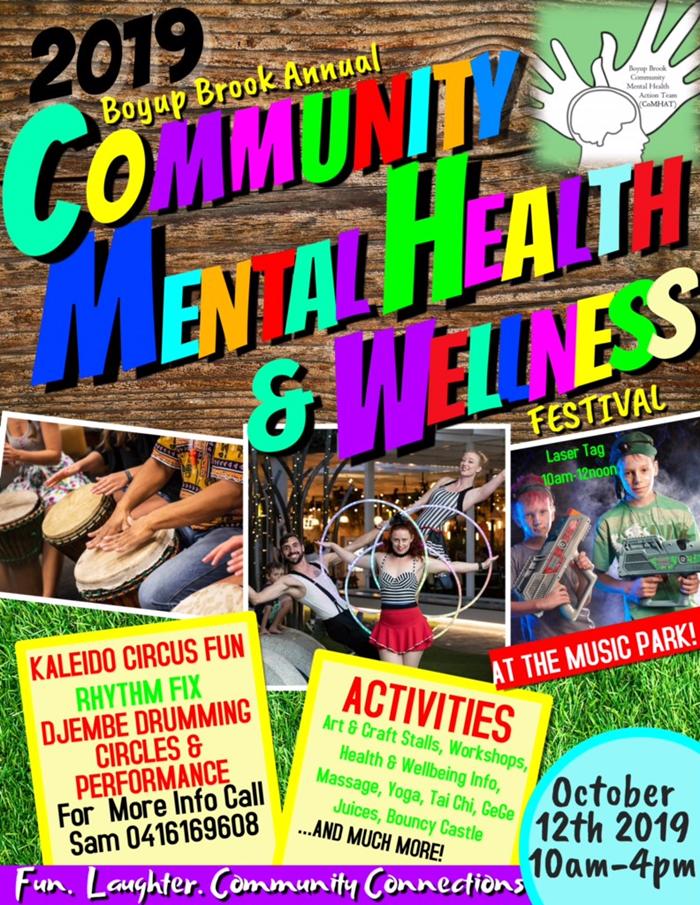 Save the date - CoMHAT Wellness Festival